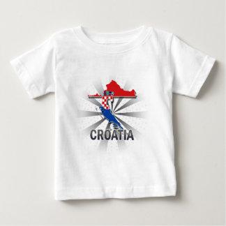 Croatia Flag Map 2.0 Baby T-Shirt