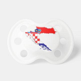 Croatia Flag Map Dummy