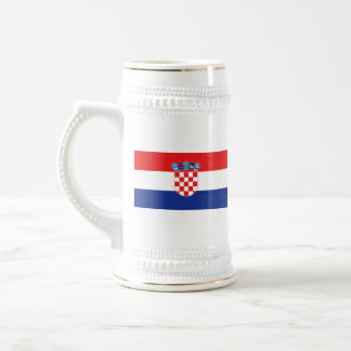 Croatia Flag ~ Map Mug