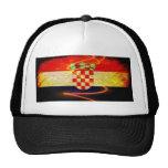 Croatia Flag Mesh Hat