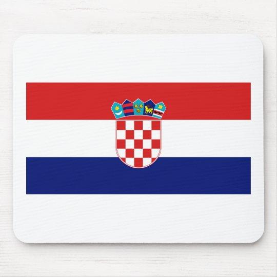 Croatia Flag Mouse Mat