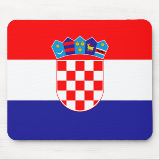 Croatia Flag Mouse Mat
