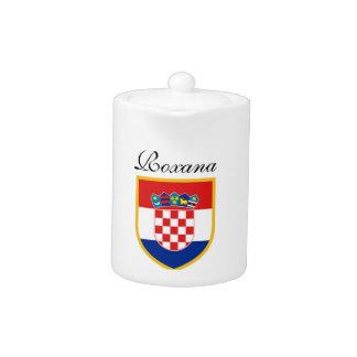 Croatia Flag Personalized