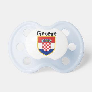 Croatia Flag Personalized Dummy