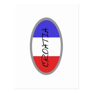 Croatia Flag! Postcard
