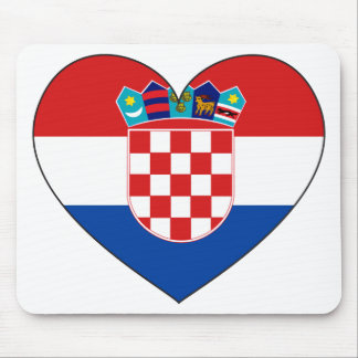 Croatia Flag Simple Mouse Mat