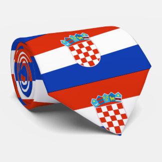 Croatia Flag Tie