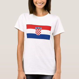 Croatia Flag x Map T-Shirt