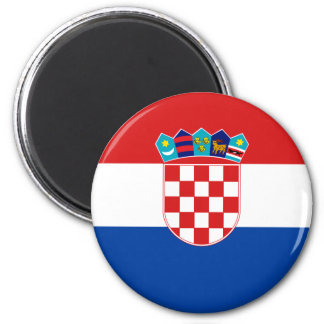 Croatia High quality Flag Magnet
