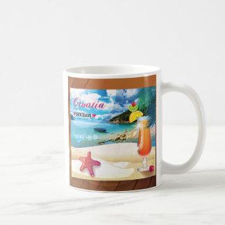Croatia holidays coffee mug