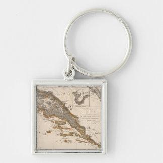 Croatia Key Ring