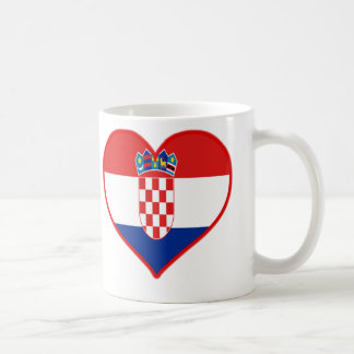 Croatia Love Coffee Mug