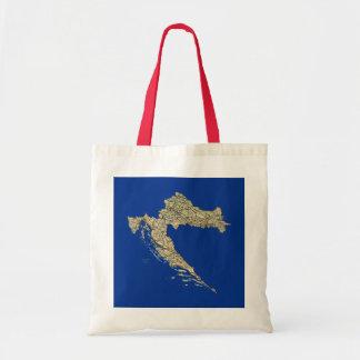 Croatia Map Bag