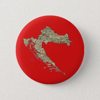 Croatia Map Button