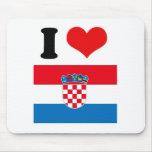 Croatia Mouse Pad