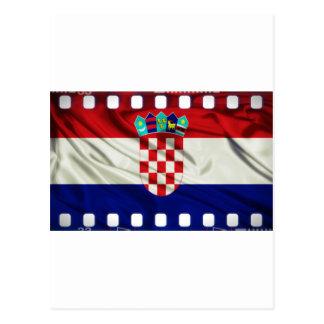 Croatia Movie Industry tribute Postcard
