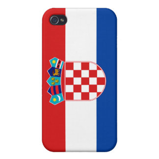 Croatia National Nation Flag  Case For iPhone 4