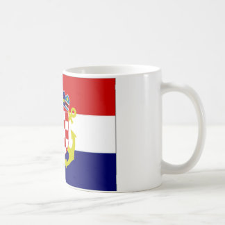 Croatia Naval Ensign Flag Coffee Mug