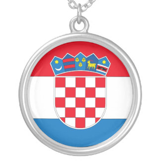 Croatia Personalized Necklace
