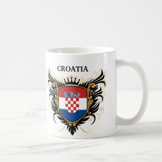 Croatia [personalise] basic white mug