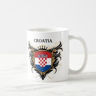 Croatia [personalise] coffee mugs