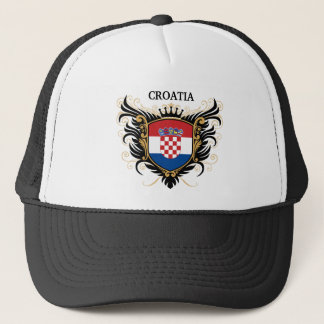 Croatia [personalize] trucker hat