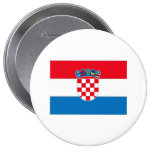Croatia Pinback Buttons