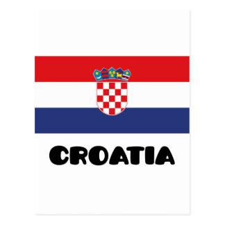 Croatia Postcard
