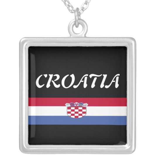 Croatia Silver Plated Necklace