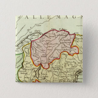 Croatia, Slovenia, Italy 15 Cm Square Badge