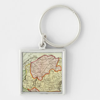 Croatia, Slovenia, Italy Key Ring