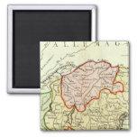 Croatia, Slovenia, Italy Magnet