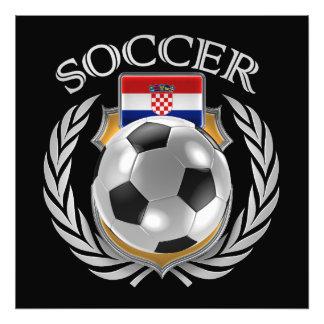 Croatia Soccer 2016 Fan Gear Photo Art