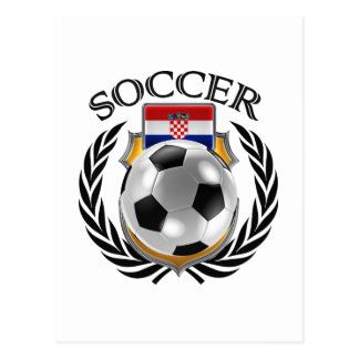 Croatia Soccer 2016 Fan Gear Postcard