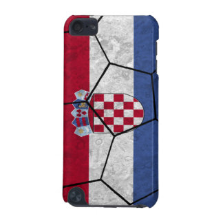 Croatia Soccer Ball iPod Touch Case