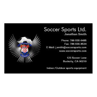 Croatia Soccer Champions Business Card Templates