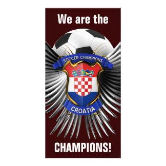 Croatia Soccer Champions Photo Cards