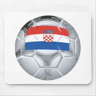 Croatia Soccer Mouse Mat