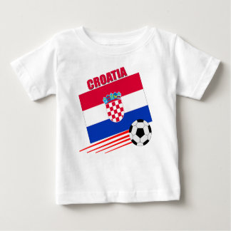 Croatia Soccer Team Baby T-Shirt
