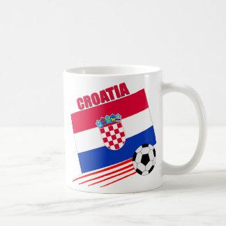 Croatia Soccer Team Basic White Mug