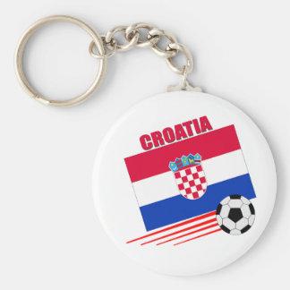 Croatia Soccer Team Key Ring