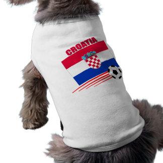 Croatia Soccer Team Sleeveless Dog Shirt