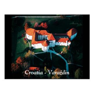 Croatia - Varaždin Postcard