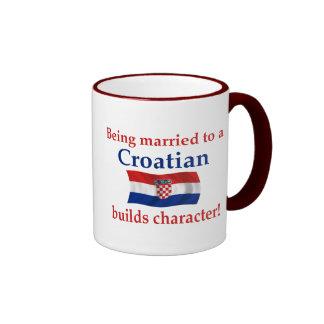 Croatian Builds Character Ringer Mug