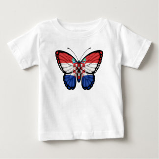 Croatian Butterfly Flag Baby T-Shirt