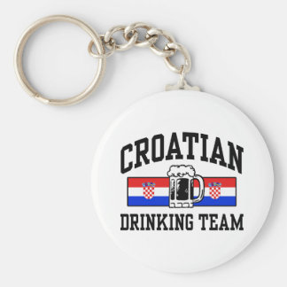 Croatian Drinking Team Key Ring
