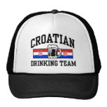 Croatian Drinking Team Mesh Hats