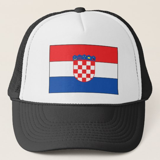 Croatian Flag Cap