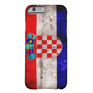 Croatian Flag Barely There iPhone 6 Case
