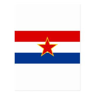 Croatian flag hrvatska zastava post cards